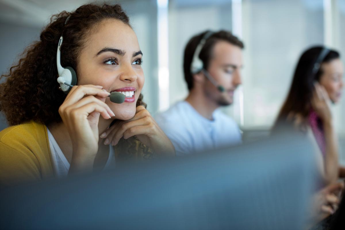 setor de call center